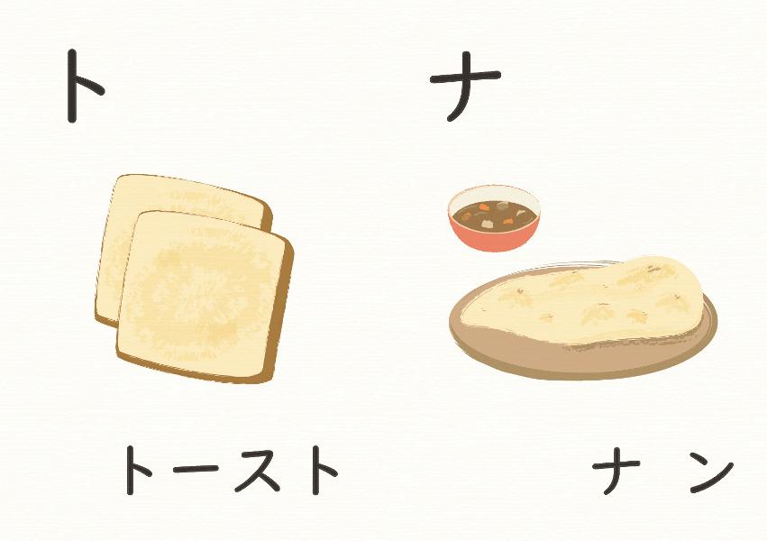 カタカナ-えほん ト-ナ