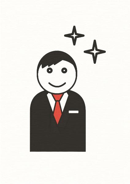 生活の白黒赤絵本『おとうさんのいちにち』