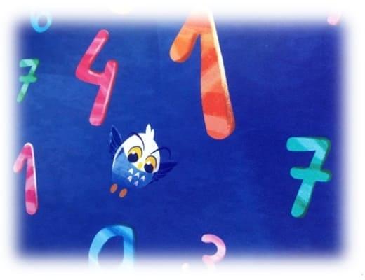魔法の数字-絵本挿絵