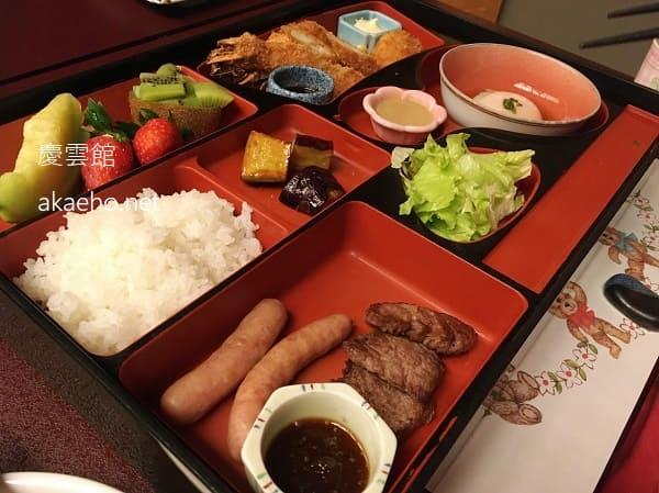 慶雲館 夕食 お子様メニュー