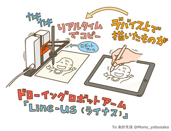 Line-us-イラスト:Mono