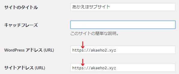 URL書き換え