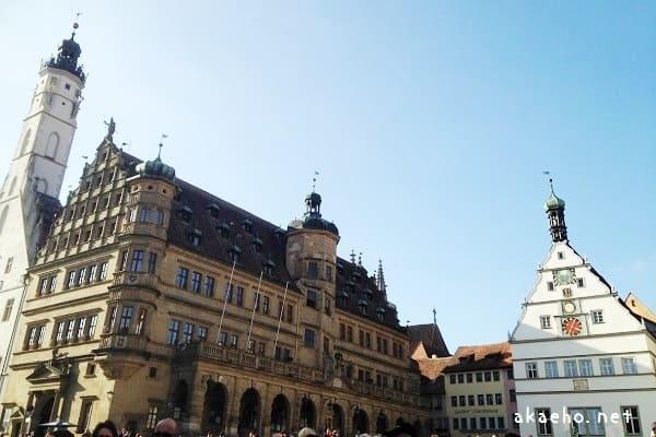 ローテンブルク 旧市庁舎