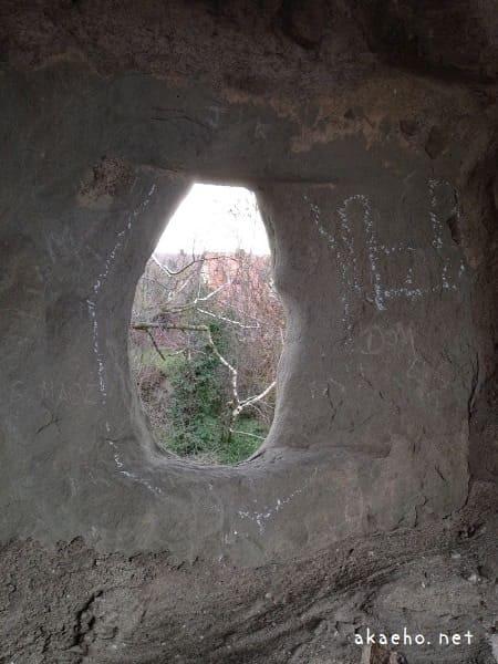 ローテンブルク城壁 狭間