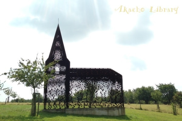 ベルギー・ボルフローンの透明な教会